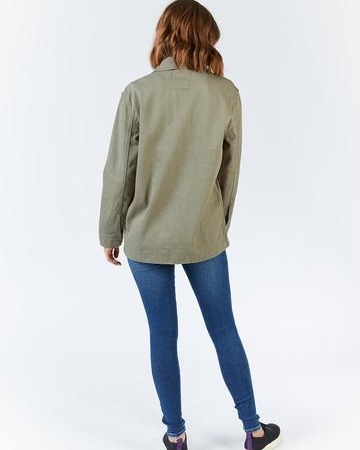 Dr Denim Karena Jacket in Light Emerald