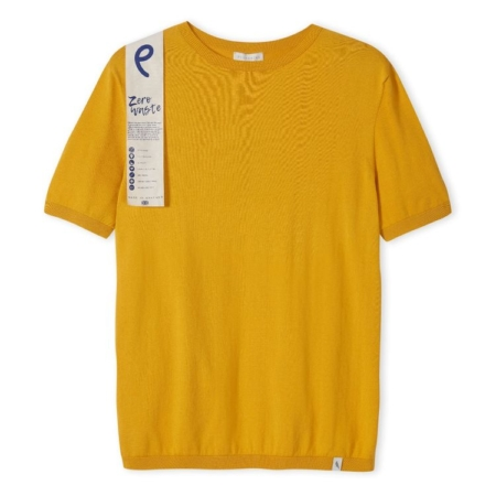 Peregrine Knitted Tee in Sunflower