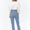 Dr Denim Nora Jeans in Shift Worker Washed Stripe