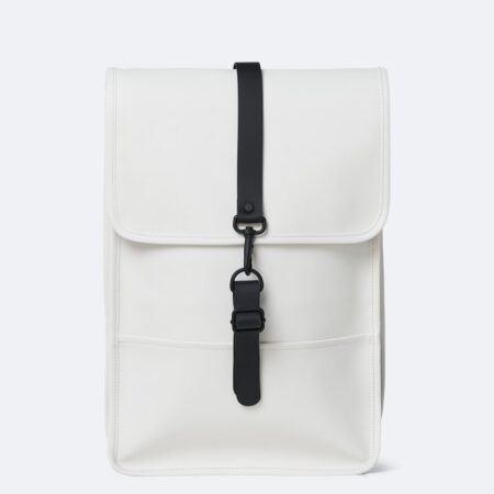 Rains Waterproof Backpack Mini in Off-White