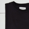 Lals Fisherman Long Sleeve Tee in Black