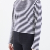 Lals Fisherman Long Sleeve Tee in Sailor Stripe