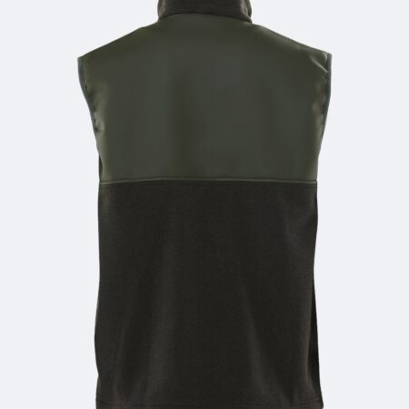 Rains Fleece Vest in Green