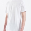 Lals Hawkers Worn Crew Tee in White