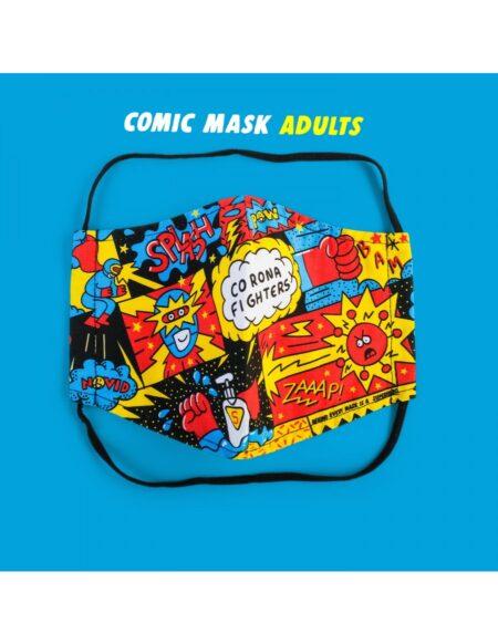 The Dudes Comic Face Mask