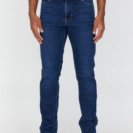 Dr Denim Clark Jeans in Dark Blue Rock
