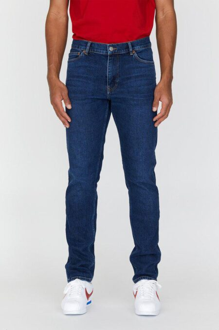 Dr Denim Clark Jeans in Dark Blue Rock