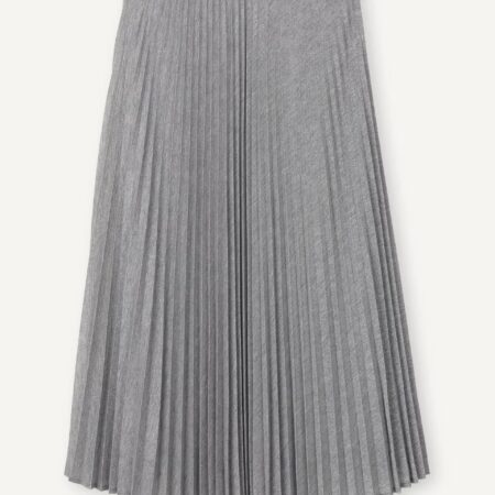 Libertine-Libertine Closer Hack Skirt in Silver