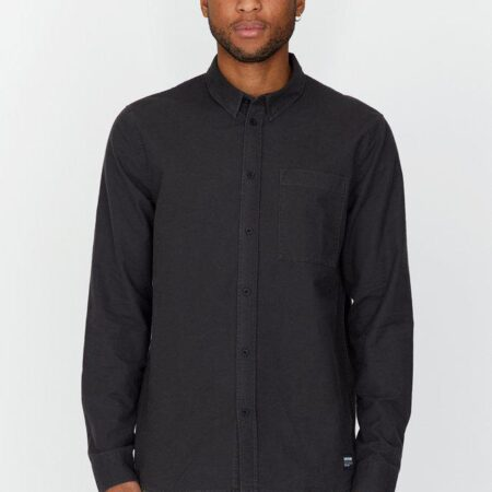 Dr Denim Dale Shirt in Graphite