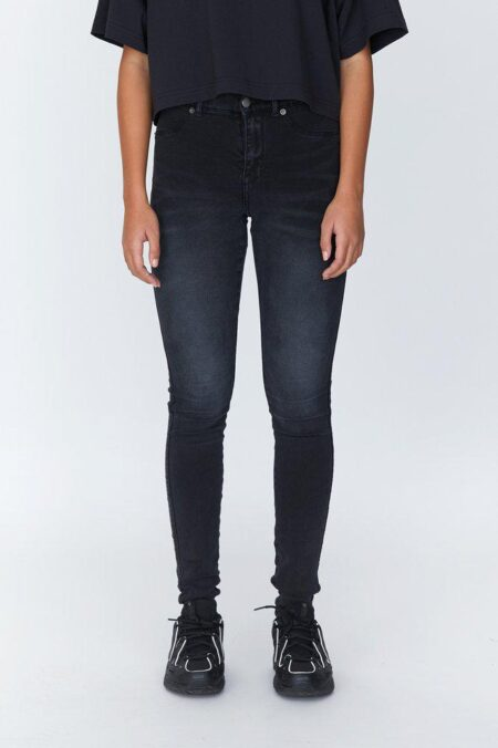 Dr Denim Plenty Jeans in Iron Black