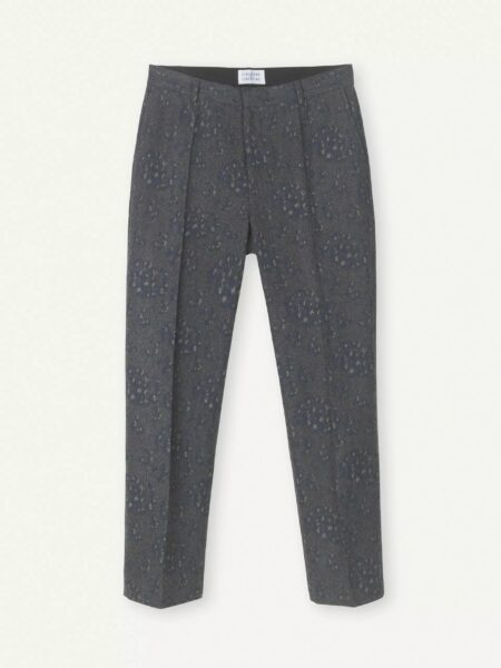 Libertine-Libertine Blade Venere Trousers in Grey Melange