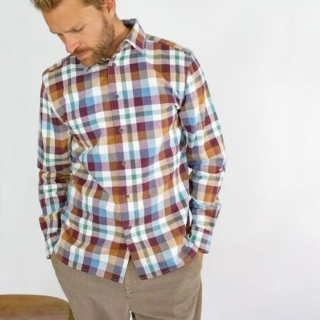 Peregrine Multi Check Drill Shirt