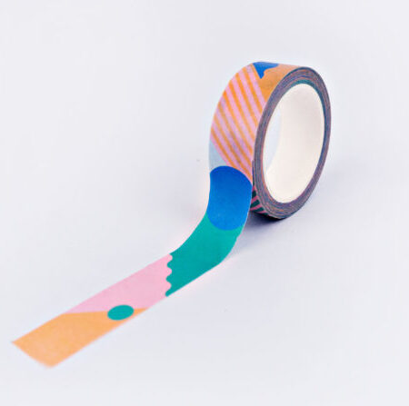 The Completist Primary Miami Washi Tape