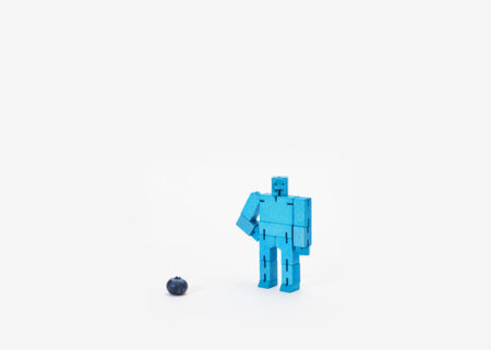 Areaware Micro Cubebot® in Blue