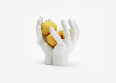 Areaware Resin & Marble Hand Bowl