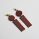 A Weathered Penny Le Tan Earrings