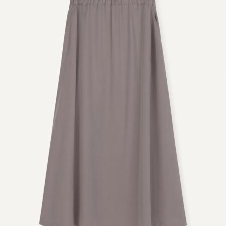 Libertine-Libertine Box Skirt in Taupe