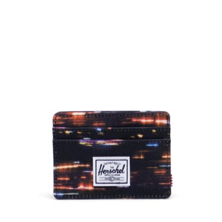 Herschel Supply Co Charlie Card Holder in Night Lights