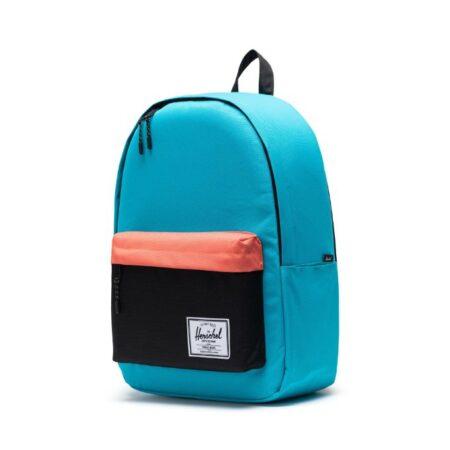 Herschel Supply Co Classic XL Backpack in Blue Bird/Black/Ember Glow