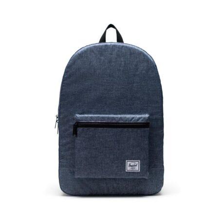 Herschel Supply Co Packable Daypack in Raven Crosshatch