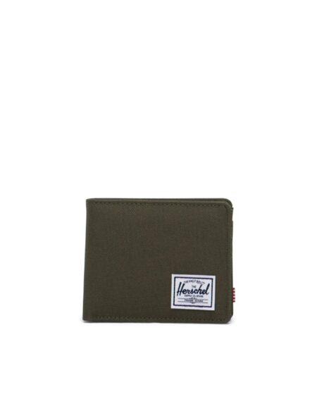 HerschelSupply CoRoy Coin Wallet in Ivy Green