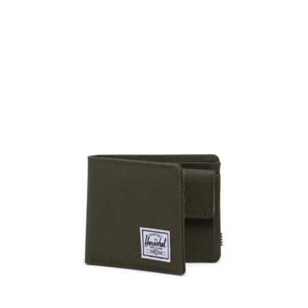 Herschel Supply Co Roy Coin Wallet in Ivy Green