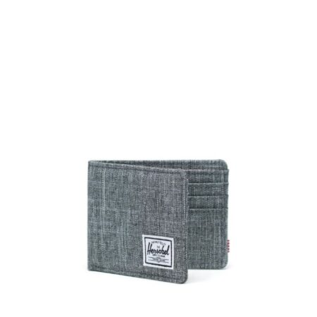 HerschelSupply CoRoy Wallet in Raven Crosshatch.