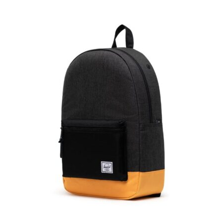 Herschel Supply Co. Settlement Backpack in Black Crosshatch/Black/Blazing Orange
