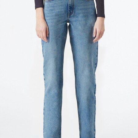 Dr Denim Li Jeans in Caspian Mid Blue
