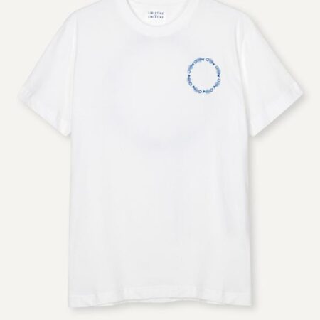 Libertine-Libertine Beat Circle Tee in White