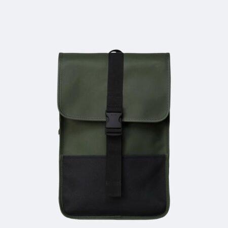 Rains Buckle Backpack Mini in Green