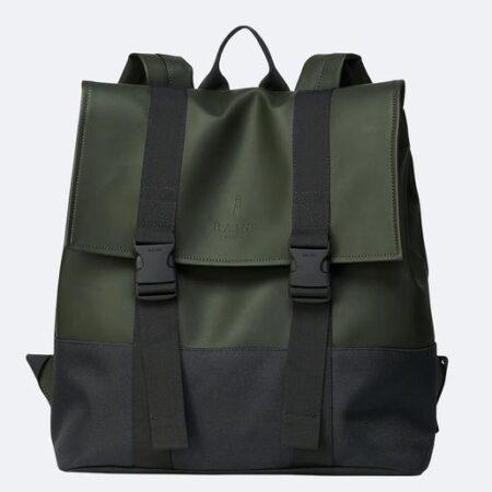 Rains Waterproof Buckle MSN Bag in Green