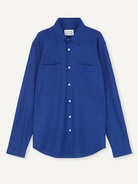 Libertine-Libertine Canyon Shirt in Electric Blue