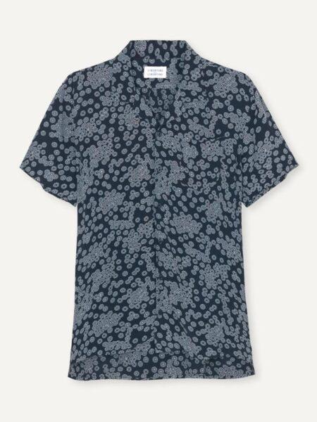 Libertine-Libertine Cave Shirt in Dark Navy