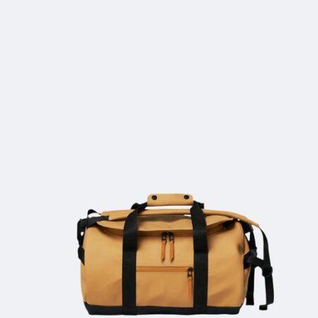 Rains Waterproof Small Duffel Bag in Khaki