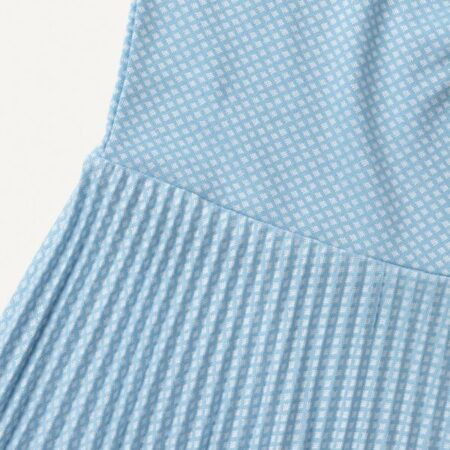 Libertine-Libertine Era Dress in Sky Blue Grid