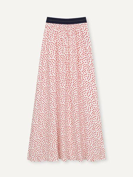 Libertine-LibertineForget Skirt in Fire Red Dot