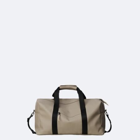 Rains Gym Bag in Taupe