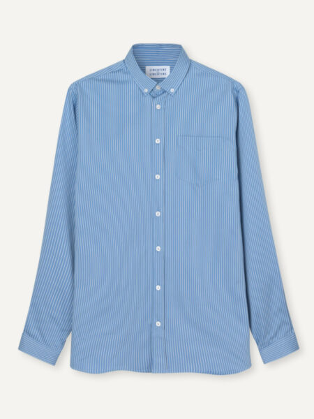 Libertine-Libertine Hunter Shirt in Sky Blue Pin
