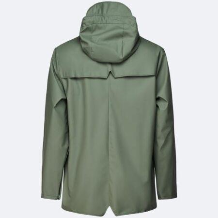 Rains Waterproof Jacket in Olive