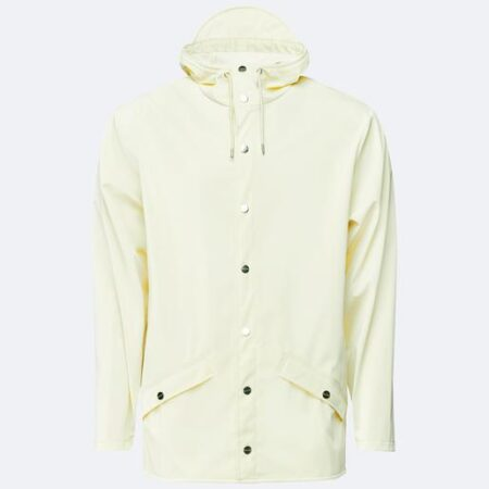 Rains Waterproof Jacket in Pearl