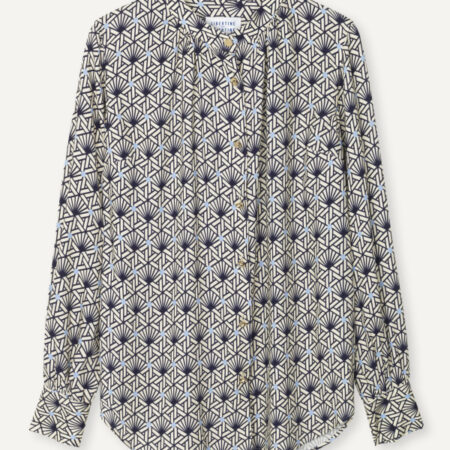 Libertine-Libertine Polly Blouse in AOP Tile Dot