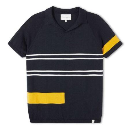 Peregrine Retro Emery Shirt in Navy