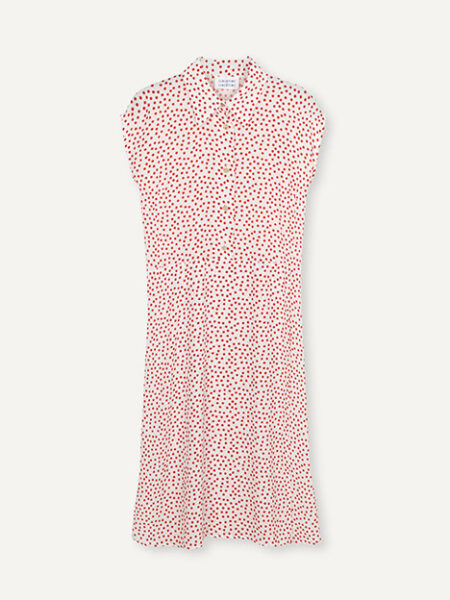 Libertine-LibertineSource Dress in Fire Dot AOP