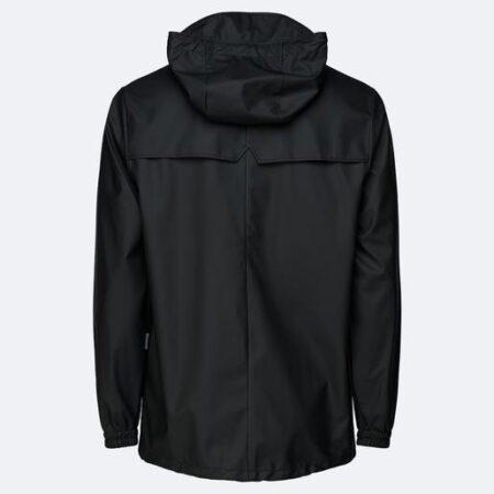 Rains Waterproof Storm Breaker Jacket in Black