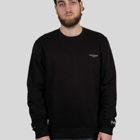The Dudes Vices Sweatshirt in Black