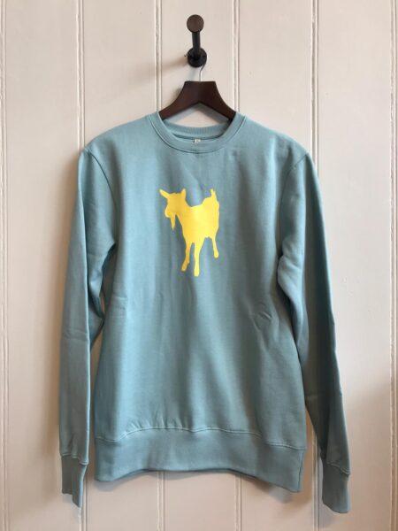 Fishboy PZ Slate Green Men's Goat Sweater
