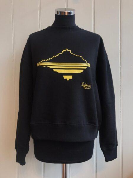 Fishboy PZ Black Women's Mount Sweater