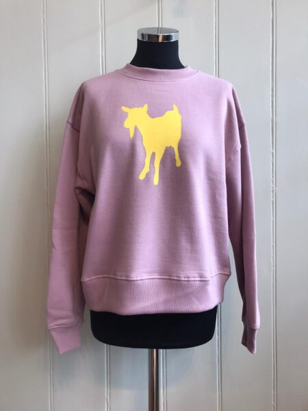 Fishboy PZ Pink Women's Goat Sweater