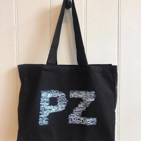 Fishboy PZ Black Oversized PZ Tote